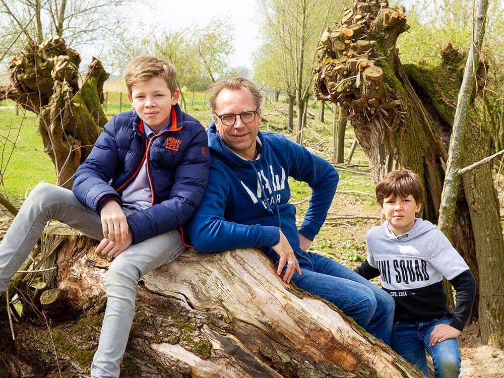 Familieportretfotografie De Fotostudio Uden Ad van de Graaf